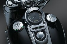 Kuryakyn Zombie L.E.D. Fuel Gauge and Gas Cap Set Harley Road King 1994-2015