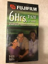 Fujifilm 6 Hrs. T-120 EP MODE VHS Brand New Fatcory Sealed