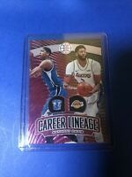 Anthony Davis 2019-20 Panini Illusions Career Lineage Pink 23/25 Rare SSP Lakers