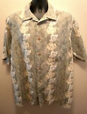 Clearwater Outfitters Men's Hawaiian Style Shirt Lg Large (A4)