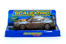 Scalextric C2965 Aston Martin DBR9 #009 GULF 24h Le Mans 2008 / Dirty Weathered