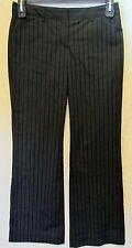 Women's Express Design Studio Editor Dress Pants Black/Charcoal Size 4 Excellent