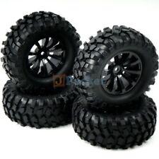 4pcs RC 1/10 96mm Tires & 1.9'' Hex 12mm Wheels For Rock Crawler Truck Upgrade