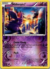 Nidorano 43/114 Common Reverse Holo Pokemon Steam Siege Mint