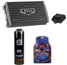 Boss Ar3000D 3000W Mono D Car Amplifier + Remote + 3.0 Farad Capacitor + Amp Kit