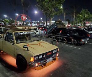 Pon retro V2 Front Lip Spoiler Steel fit for Datsun 720 pickup / JDM