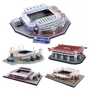 3D Soccer Stadium Model Puzzle Paper Cardboard Model DIY Jigsaw Footbal