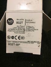 New!! Allen Bradley 802T-BP Ser J Oil Tight Limit Switch