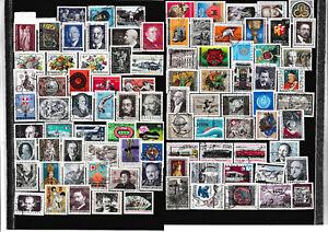 autriche lot timbres oblitérés
