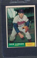 1961 Topps #177 Don Larsen Athletics EX *1465