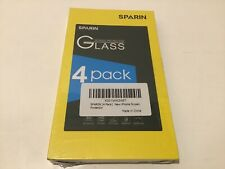 New Sparin iPhone Screen Protector Glass - 4 pack