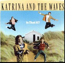 KATRINA & THE WAVES IS THAT IT?/I REALLY TAUGHT ME TO WATUSI 45RPM  W/PIC SLEEVE
