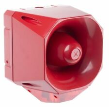 Asserta AS/SB/024/R/110/RL Maxi Industrial Sounder Beacon Red LED 24Vdc
