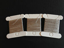Conductive thread (Silver15%)-48ft etip gloves touchscreen DIY Free shipping