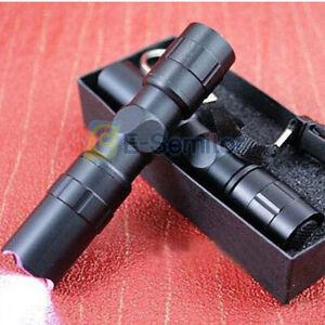 SMALL TORCH Mini Handheld Powerful LED Tactical Pocket Flashlight Bright UK