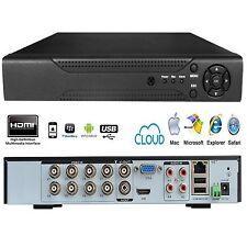 DVR 8 CANALI HDMI CLOUD VIDEOSORVEGLIANZA VIDEOREGISTRATORE TVCC