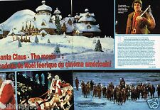 Coupure de Presse Clipping 1985 (2 pages) Film Noel Santa Claus