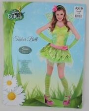 Disney Fairies Tinker Bell Ladies Juniors Halloween Fantasy Costume Sz Small 3-5