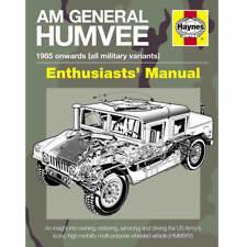 AM General Humvee 1985-Onwards Owners Workshop Manual by Haynes