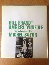 BILL BRANDT - OMBRE D'UNE ILE - 1966 BE (Jaquette en photocopie couleur)