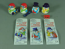 HPF: Die lustigen Kugelkopf-Schneemänner 1999 - Komplettsatz + Var. + alle BPZ