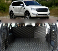 Car Rear Trunk Mat Boot Liners Auto Accessories pad 2015-2017 For Ford Everest