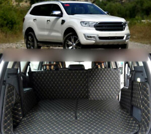 For Ford Everest 2015-2020 Car Rear Trunk Mat Boot Liners Auto Accessories pad