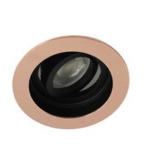 10X Led Ceiling Round Rose gold with black spotlight Downlight spotlights
