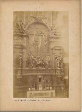 SEVILLE c. 1880 - Retable Pedro Roldan Cathédrale Espagne - 5