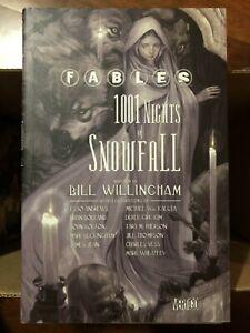 DC Vertigo FABLES 1001 Nights of Snowfall Willingham Hardcover 2006 Fabletown
