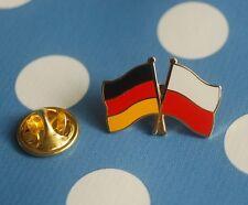 Freundschaftspin Deutschland Polen Pin Badge Button Anstecker Anstecknadel