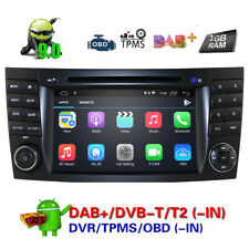 For Mercedes Benz E-W211 W219 Android 9.0 Car DVD Player GPS Radio 2GB RAM 2019