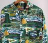 Oregon Ducks Football Reyn Spooner Mens XXL Hawaiian Rayon SS Shirt