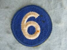 WWII US Army Patch 6th Corps Italy France Europe WW2