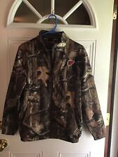 Ladies Scent Blocker camo hunting jacket size small with face mask