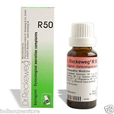 Dr Reckeweg Germany R50 Drops Homeopathic Medicine Gynae Sacroiliac Complaints