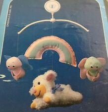Vintage Judi's Baa Baa Baby Musical Crib Mobile Rainbow Sheep USA #1829201