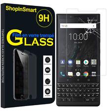 """Verre de Protection para Blackberry KEY2 / Clave 2 4.5"""" Cristal Real Pantalla"""