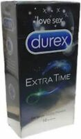 10 pcs DUREX EXTENDED PLEASURE Condoms Discreet, Genuine Stock + Free Shipping