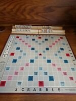 VINTAGE Scrabble Game by Selchow & Righter Co.1948/1949/1953