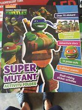 NEW NICKELODEON Teenage Mutant Ninja Turtles: Super Mutant Activity Folder