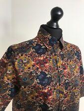 Vintage Liberty London Shirt Blouse 90s Thomas & Jonathon Of Canterbury Size 14