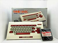 Family Basic Keyboard HVC-007 + RAM NES Boxed Famicom Game Japan