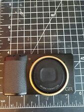 Ricoh GR III Digital Camera with extra rings gold/blue MINT