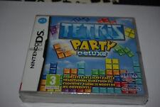 Jeu vidéo tetris party deluxe nintendo ds compatible 3ds neuf sous blister