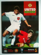 MINT 1993/94 Manchester United v Galatasaray Champions League