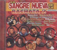 Nueva Era Yao Joan Pena Andy Andy La Sangre Nueva De La Bachata 2 CD New Sealed