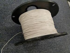 WHITE 18 AWG Gauge Stranded Hook Up Wire 100 FT REEL UL1007 300 Volt