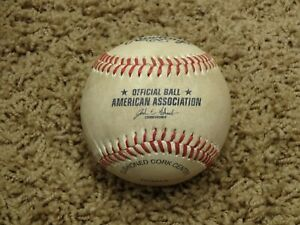 Rawlings Official MINOR LEAGUE Baseball~AMERICAN ASSOCIATION~GAME USED