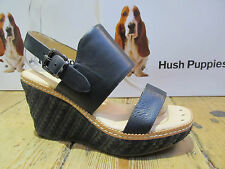 Hush Puppies Ankle Straps 100% Leather Upper Shoes for Women